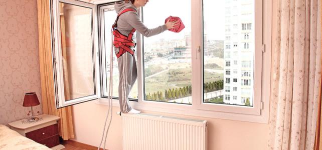 Come pulire le finestre senza stress